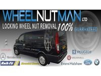 Locking Wheel Nut Removal , 100% Guaranteed Removal Using Our Own Tools / System. Mobile Option 24H