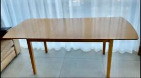 Extendable dining table oak