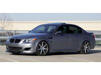 "18"" BMW 5 SERIES M SPORT M5 E60 E61 ALLOYS WHEELS"