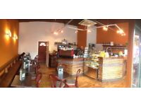 Well established coffee shop cafe for sale in Urmston Town Center