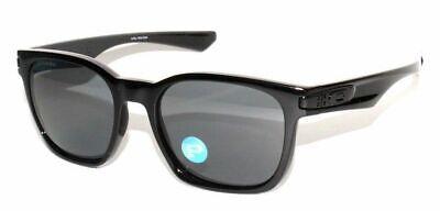 Oakley Garage Rock POLARIZED Sunglasses OO9175L-L2 Polished Black W/ Grey (Sunglass Garage)