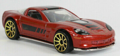 Hot Wheels '09 Corvette ZR1 Multi Pack Exclusive Loose Red 1:64 Collectible Car