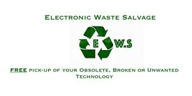 *FREE* E-Waste Pickup, (Electronic Waste Pick-Up)