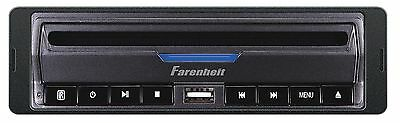 FARENHEIT DVD-39 1 SINGLE DIN IN-DASH CAR DVD/CD/MP3/USB PLAYER WARRANTY DVD39