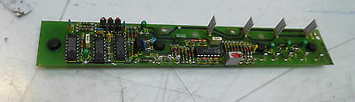 Indramat Control PC Board, # 109-525-2237b-9, Used,  WARRANTY