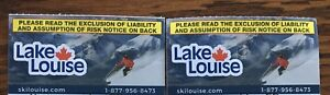 2 Lake Louise Lift tickets - $125 for both