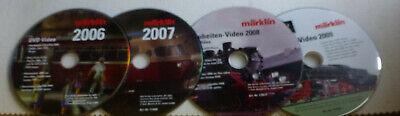 4x DVD Märklin Neuheiten 2006 - 2009 gebraucht kaufen  Witten