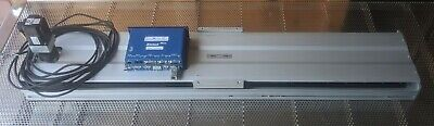 Isel Les5 36 Travel Linear Translation Stage With Xenus Plus Servo Drive