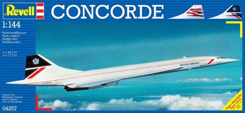 "(RV04257) - Revell 1:144 - Concorde """"British Airways"""""