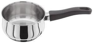 Judge Vista Cookware Stainless Steel 14cm 1lt Milk Pan Saucepan with Handle