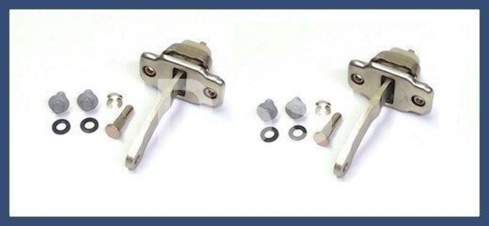 Set of 2 Door Stops w// Hardware Kit Genuine For Porsche 911 912