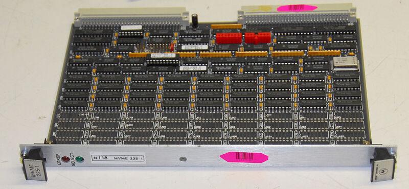 Motorola MVME 225-1 VME Memory Module
