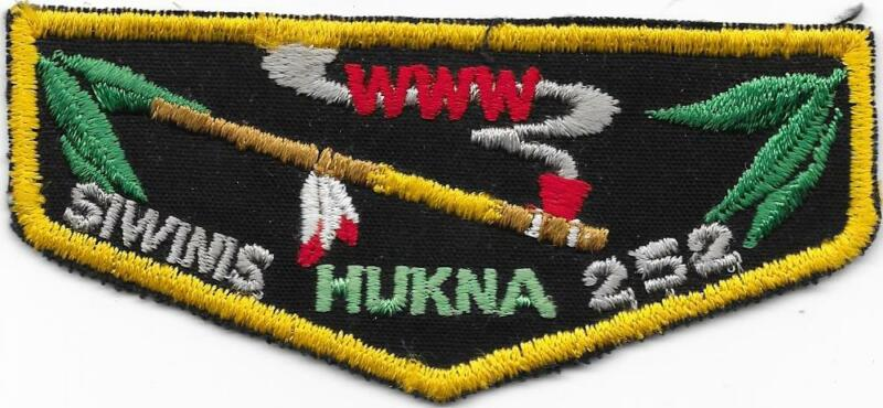 F1 Hukna Chapter Siwinis Lodge 252 Order of the Arrow OA Boy Scouts of America