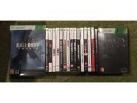 Xbox 360 Elite with 17 Games