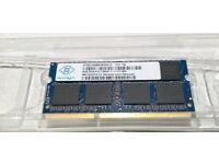 8GB Laptop memory DDR3 12800S 1x8GB SODIMM Nanya