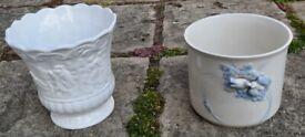 Vintage Marks and Spencer White Ceramic/China Pot And Dove Ceramic/China Pot