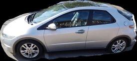 2010 Honda Civic Ex GT Silver only 24k miles FSH