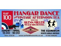 Hangar Dance with Glenn Miller Orchestra & Afternoon Tea