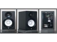 Yamahaa HS7 Studio Monitors - Pair - New