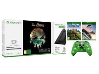 Brand New Xbox one S 1TB + Sea of thieves + Forza Horizon 3 + Minecraft + Extra controller + Stand