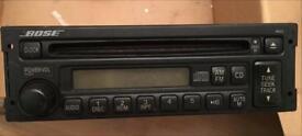 Mazda mx5 Bose radio/CD with amp and speakers