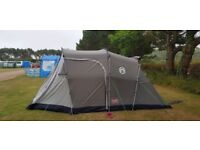 Coleman Lakeside Deluxe 4 Person Tent - Green/Grey