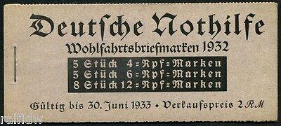 Dt. Reich Nothilfe Bauwerke 1932** Markenheft 31 (S7279)