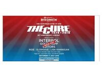 The Cure Two Tickets British Summer Time Hyde Park 7th July