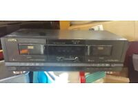 Twin Cassette Player in very good condition, now surplus to requirements and cheap price