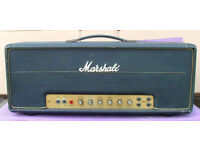 ORIGINAL VINTAGE 1973 MARSHALL SUPER LEAD 100 AMPLIFIER HEAD (NOT A RE-ISSUE)