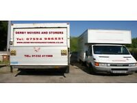 MAN AND VAN HOUSE REMOVAL SERVICE, derby, Nottingham, Burton on Trent