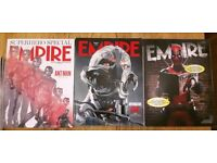 15 x Empire Movie Magazines, 2014 - 2016, Subscriber & Limited Edition Covers