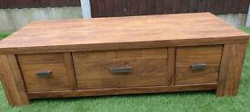 TV unit / Media unit - from Next - excellent condition - Oak