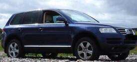 VW Touareg 2.5 Tdi. Full MOT and Recent service