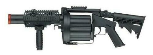 ICS Airsoft Multiple Grenade Launcher Long Version Green Gas/Propane Powered