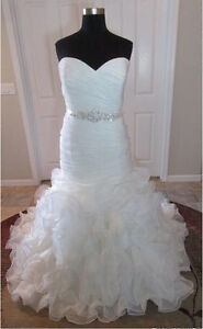 Allure Bridal Wedding Dress, never been worn or altered