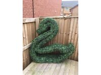 Artificial Topiary Large Swan