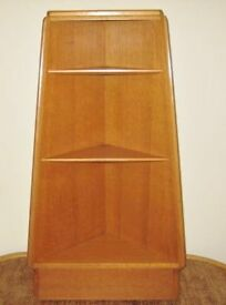 Stylish And Most Delightful 1960/70s Retro G-Plan Teak Corner Display Unit.