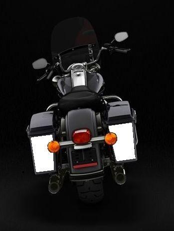 Harley Davidson Road King Touring Hard Saddlebag Reflective Decal Kit