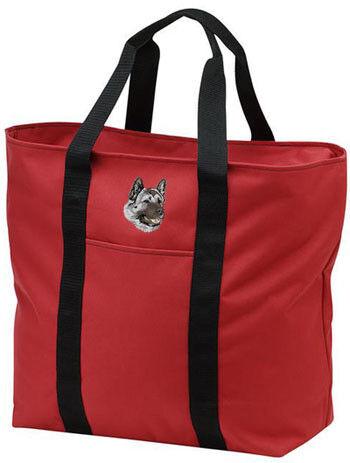 AKITA embroidered tote bag ANY COLOR