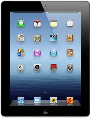 Refurbished: Apple iPad 3 9,7 32GB [wifi] zwart