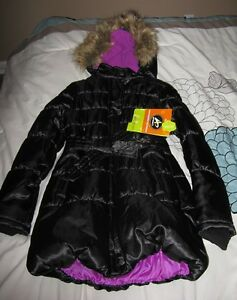 New with tags girls 10-12 winter coat black