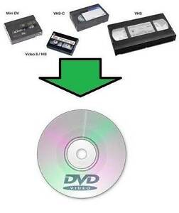 Enjoy you old Video tapes & transfer to DVD $10 each tape Lidcombe Auburn Area Preview