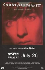 Courtney Barnett @ State Theater, Portland, ME on July 26th