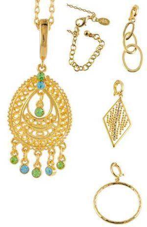 Joan rivers interchangeable jewelry ebay for Joan rivers jewelry necklaces