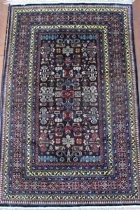 SILK RUG!! - EARLY CAUCASIAN DESIGN, (6' x4') Perfect condition