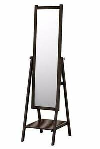 IKEA Standing Mirror, Black-Brown stain for $50 Ryde Ryde Area Preview