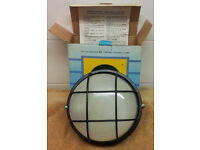 Outdoor Black Dome Light - 2 available