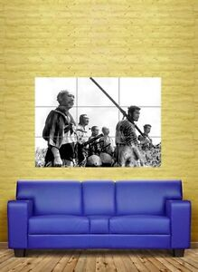 SEVEN SAMURAI CULT MOVIE GIANT POSTER ART PRINT NC1596