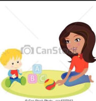 Experienced Babysitter on Bovaird and Conestoga